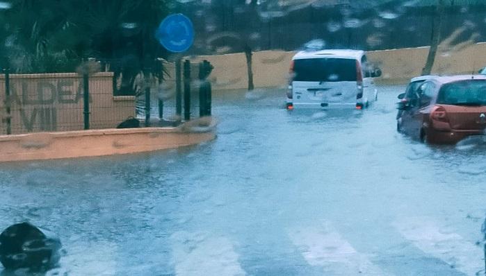 Algeciras responde a las incidencias ocasionadas por el temporal