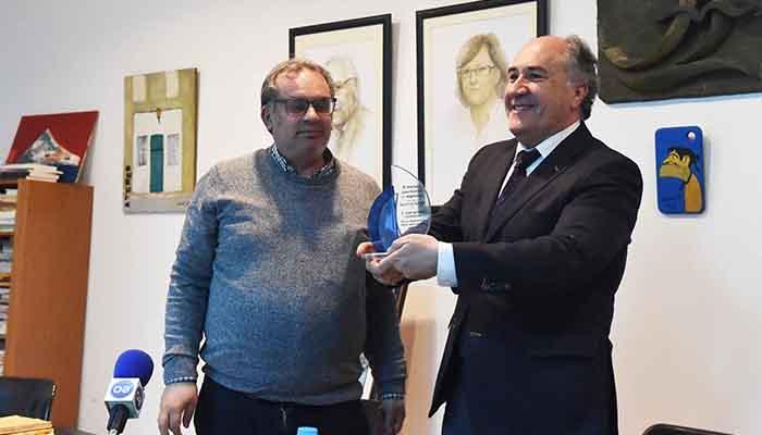 El alcalde de Algeciras,en imagen de archivo