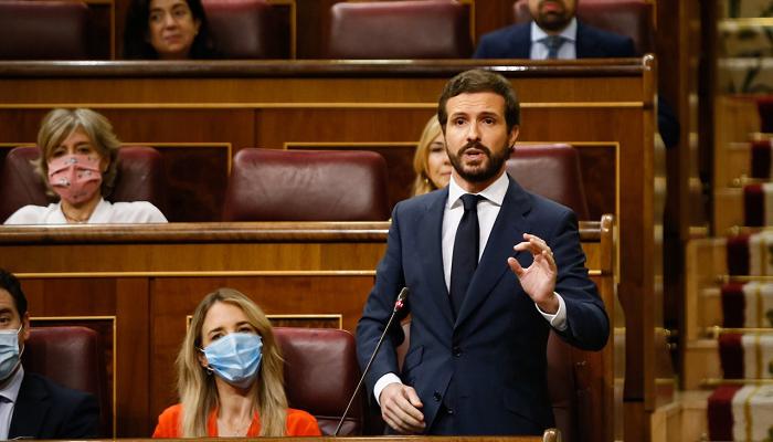 Pablo Casado, en imagen de archivo en el Congreso de los Diputados