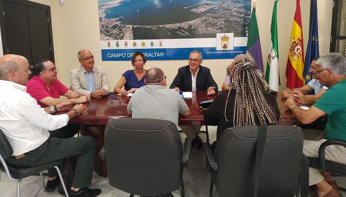 El CES del Campo de Gibraltar se reunirá por el tren antes del 10 de octubre