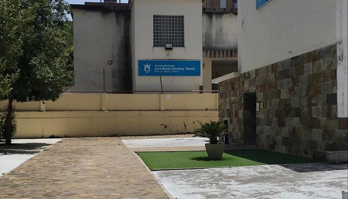 Arranca el último plazo para la matriculación en la Escuela 'Sánchez-Verdú'