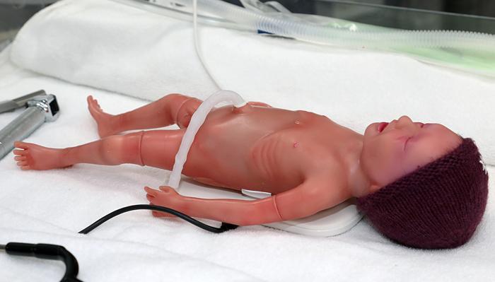 Imagen de 'Paul', el simulador de bebés