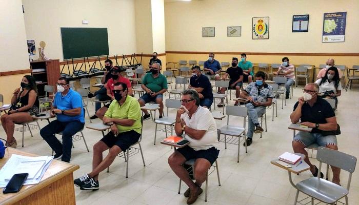 El Fútbol Base de Algeciras traza las líneas para volver a los entrenamientos