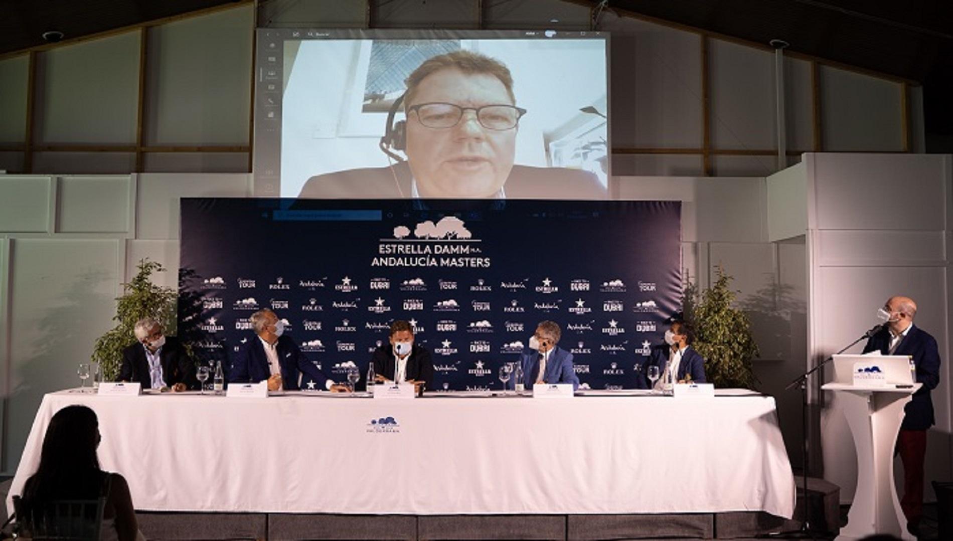 El Andalucía Masters de golf, presentado en Valderrama