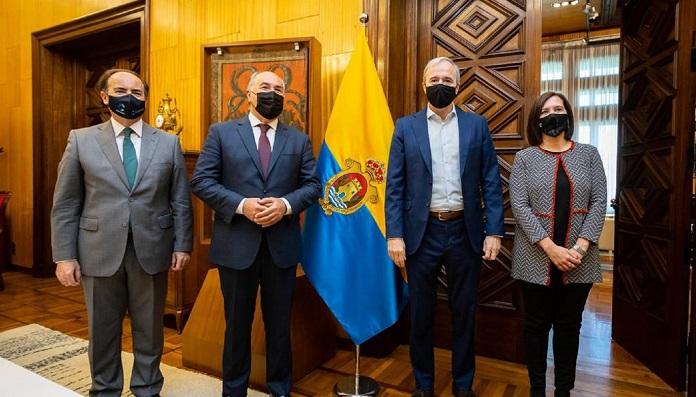 Los alcaldes de Algeciras y Zaragoza unen esfuerzos por el Ramal Central