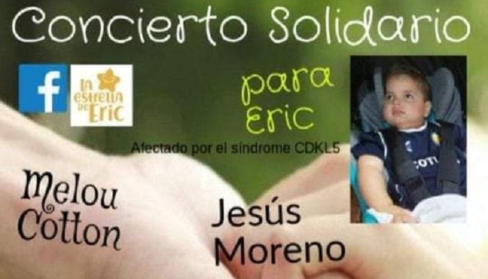 'Melou Cotton' organiza un concierto solidario en favor del pequeño Éric