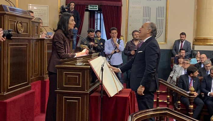 José Ignacio Landaluce toma posesión como senador por Cádiz