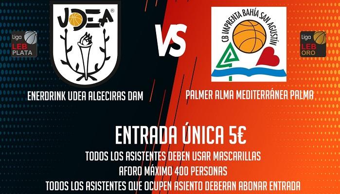 UDEA Algeciras debutará en pretemporada el lunes ante el Palma Basket