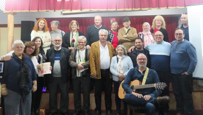 Los participantes en la décima edición del festival