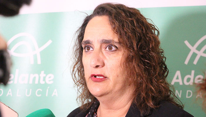 Ángela Alguilera, parlamentaria andaluza por Cádiz de Adelante Andalucía