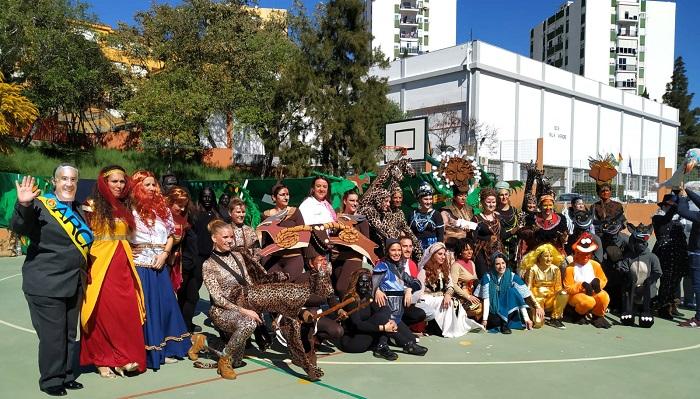 El CEIP Puerta del Mar de Algeciras celebra el Carnaval Especial