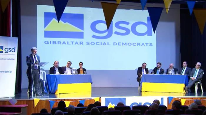 Acto público reciente del GSD