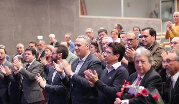 Asistentes al acto del PSOE