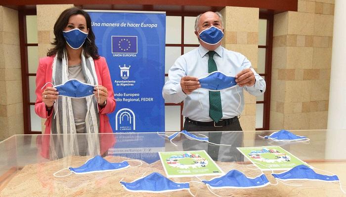 Mascarillas gratuitas en Algeciras con motivo de la Semana de la Movilidad