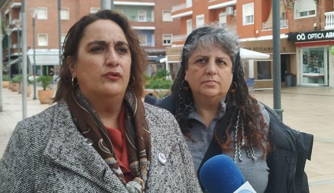 Ángela Aguilera y Leonor Rodríguez, hoy en Algeciras