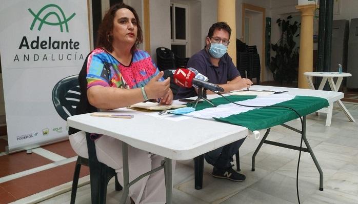 Parlamentarios de Adelante Andalucía