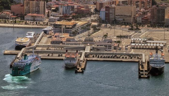 El Puerto de Algeciras mueve un 4'8% menos de mercancía hasta mayo