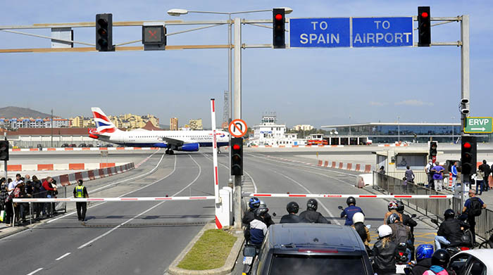 El aeropuerto de Gibraltar. Foto NG