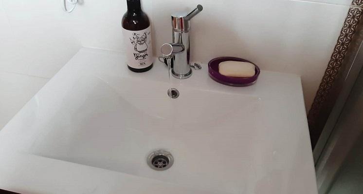 Un grifo de agua potable