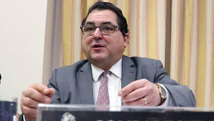 El secretario de estado español Marco Aguiriano