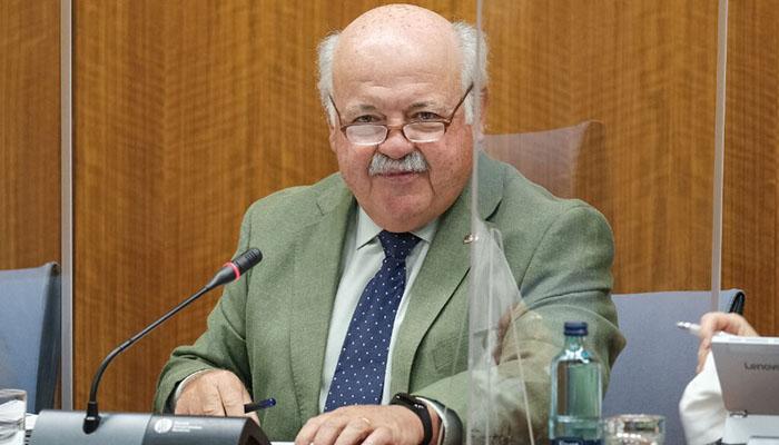 El consejero de Salud de la Junta, Jesús Aguirre, en imagen de archivo
