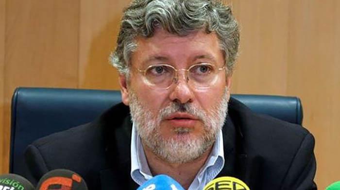 Agustín Santos, embajador español en la ONU