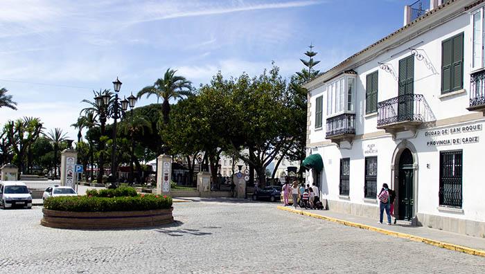 Plaza Andalucía y Alameda, en San Roque