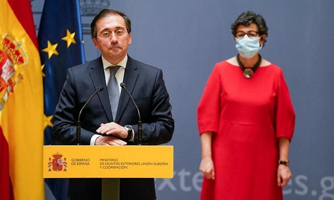 José Manuel Albares, ministro de Exteriores. Foto: NG