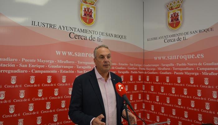 El alcalde de San Roque, Ruiz Boix, se ha mostrado satisfecho por la decisión judicial