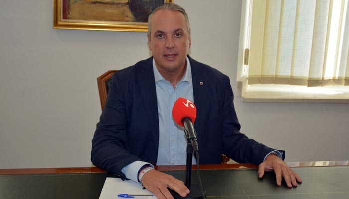 Ruiz Boix, alcalde de San Roque, en imagen de archivo
