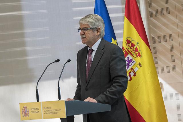 El ministro de Asuntos Exteriores, Alfonso Dastis en una imagen reciente