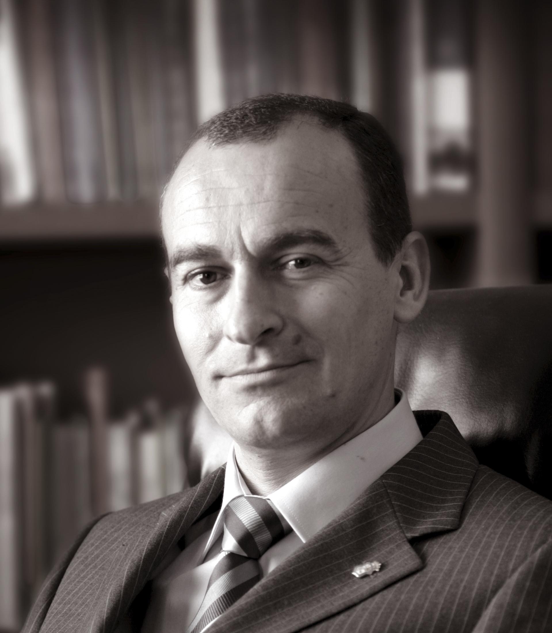 Imagen de archivo del historiador Ángel Sáez