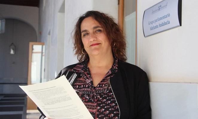 Ángela Aguilera, parlamentaria autonómica. Foto: NG