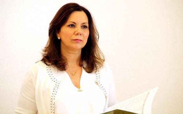 Ángela Mulas, parlamentaria de Vox por la provincia de Cádiz. Foto: NG