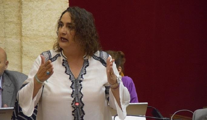 Ángela Aguilera, parlamentaria de Adelante Andalucía