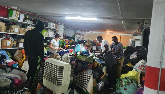 Plena actividad en la sede de Apoyo Mutuo