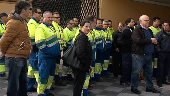 Los trabajadores piden el cumplimiento del convenio