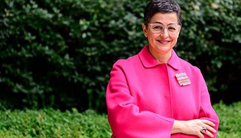 La ministra Arancha González Laya. Foto La Moncloa