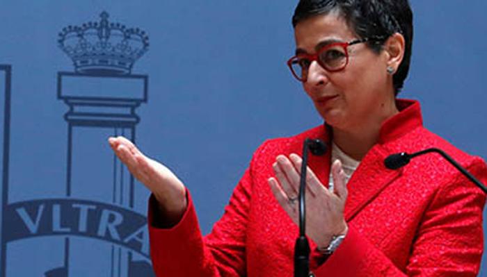 Ministra de Exteriores, Arancha González Laya