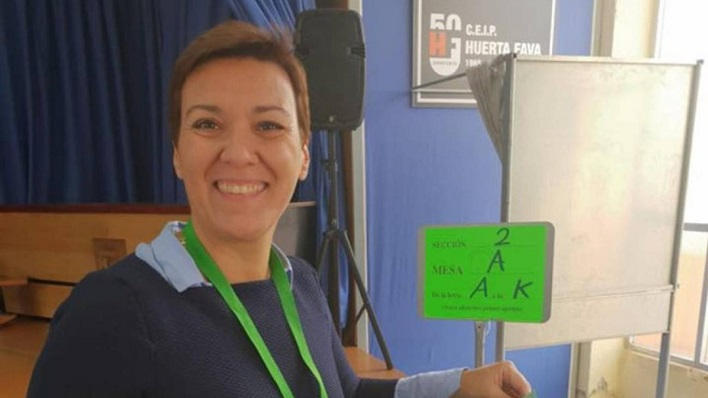 Gemma Araujo, secretaria general del PSOE de La Línea