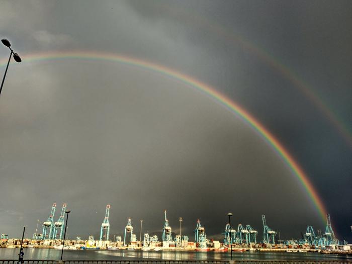 El puerto de Algeciras es uno de los focos de empleo del Campo de Gibraltar