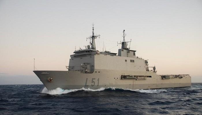 El buque 'Galicia' podrá ser visitado en Algeciras desde el viernes