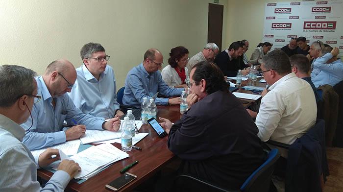 Primera reunión de la asamblea del CSIR