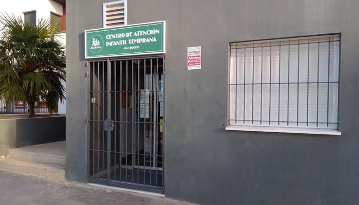 Servicio de Atención Infantil Temprana en la ciudad de San Roque