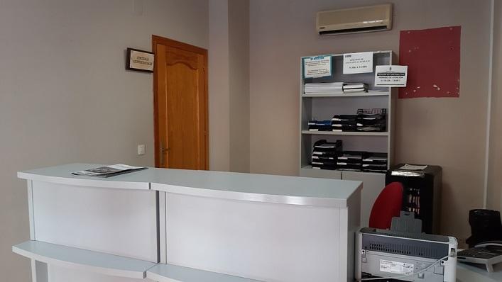 Imagen del interior de la Delegación Municipal de Asuntos Sociales