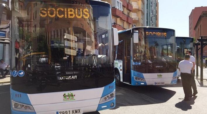 El nuevo servicio de autobús está siendo un éxito en La Línea