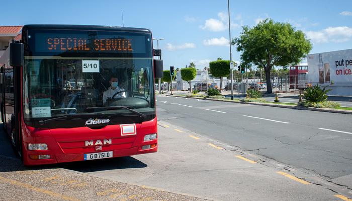 El autobús nocturno arrancará el 4 de junio. Foto Sergio Rodríguez