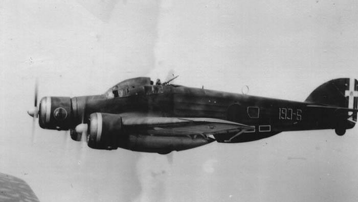 Savoia Marchetti de la aviación italiana