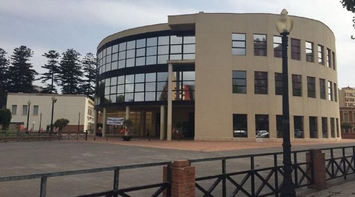 El Ayuntamiento de La Línea, en una foto reciente