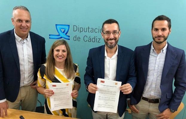 Juan Carlos Ruiz Boix, Irene García, Juan Franco y Mario Fernández